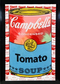 campbell's soup i (tomato) by steve kaufman