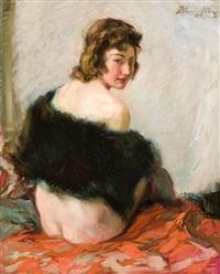 weiblicher akt by wilhelm hempfing