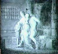 caritas romana- myco besokes av sin dotter pero i fangelset by jonas akerstrom