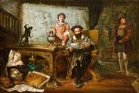 der antiquitätenhändler by robert alexander hillingford