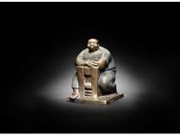 the seated man by mohammad al fayoumi