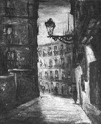 calle de punonrostro, madrid by fermin santos