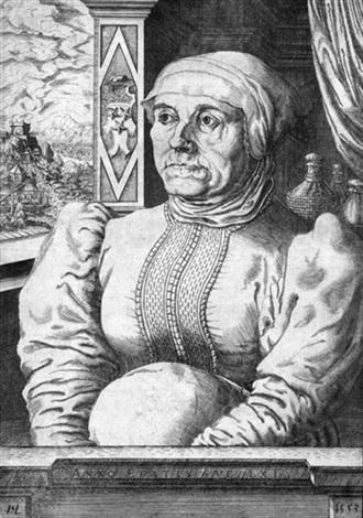 bildnis der felicitas von eckh by hans sebald lautensack