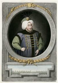 sultan mahomet iv. (+ sultan mustapha khan ii.; 2 works) by john tobias young