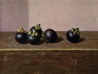 山竹 (mangosteen) by xu qingwei