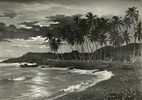 alohaland, a collection of original photographs that reflect the atmosphere and spirit of hawaii nei (bk w/ 51 works, 4to) by ray jerome nelson