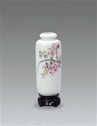 春风秋实 (spring wind and autumn fruits, a vase) by xu zhongnan