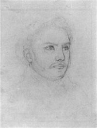 portrait des historienmalers heinrich lengerich by peter rittig