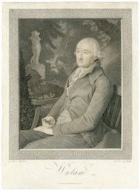 porträt christoph martin wielands (1733-1813) (after tischbein) by carl hermann pfeiffer