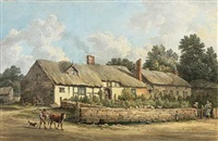 bf. waltons birth place - burton by george pickering