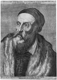 bildnis tizians by agostino carracci