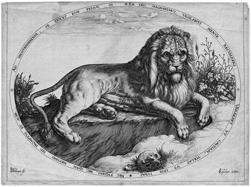 der große löwe by jacques de gheyn ii
