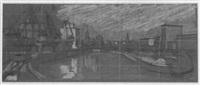 frankfurter westhafen by ernst frierdich carl gabler