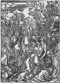 die grablegung christi by albrecht dürer
