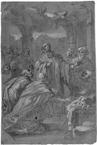 die abdankung papst coelestins by melchior steidl