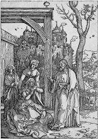 christi abschied von seiner mutter by albrecht dürer