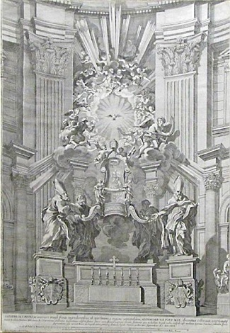 st. peter's cathedral by gian lorenzo bernini