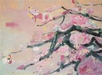 蝶恋花 (flowers and butterfly) by yi hui