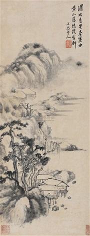 水阁幽居 by zhang feng