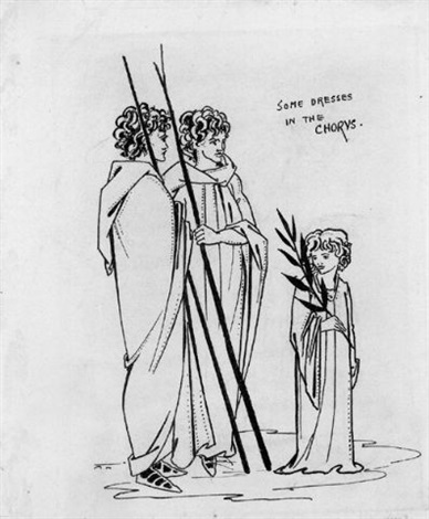 some dresses in the chorus by aubrey vincent beardsley