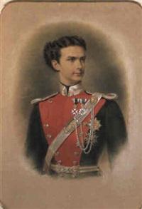 porträt könig ludwig ii. von bayern... by franz napoleon heigel