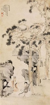 松风谱曲图 by wen dian