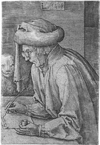 der evangelist markus by lucas van leyden