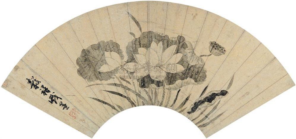 lotus by wang guxiang