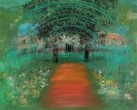 莫奈花园 (monet's garden) by li mu