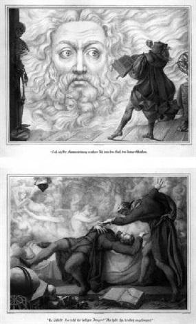 scenen aus goethes faust by peter von cornelius