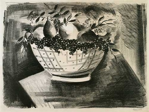 coupe de fruits by maurice de vlaminck
