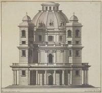 architekturentwurf für eine kirche by joseph rabel