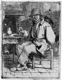 der trinker by johannes huibert (hendric) prins