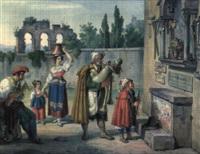 santa maria, ora pro nobis by dietrich wilhelm lindau
