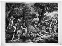 die auffindung von romulus und remus by antoinette bouzonnet stella