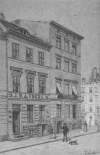 berliner straßenecke by paul andorff