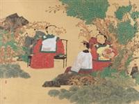 古韵清风图(特邀) by ma weichi