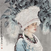 苗女(特邀) by liu quanyi