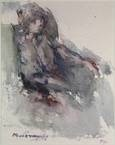 seated woman by kees verwey