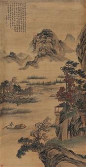 春溪舟游 by xiang yuanbian