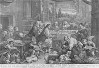 christus verwandelt wasser in wein by pietro monaco