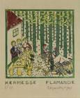 kermesse flamande by edgard tytgat