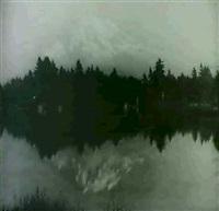 crater lake by asahel curtis
