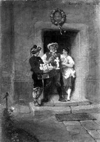 der gipsfigurenverkäufer by otto kreyher