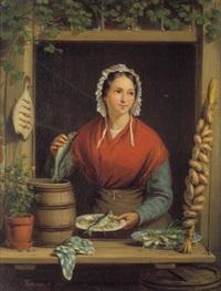 die fischverkäuferin by françois ange