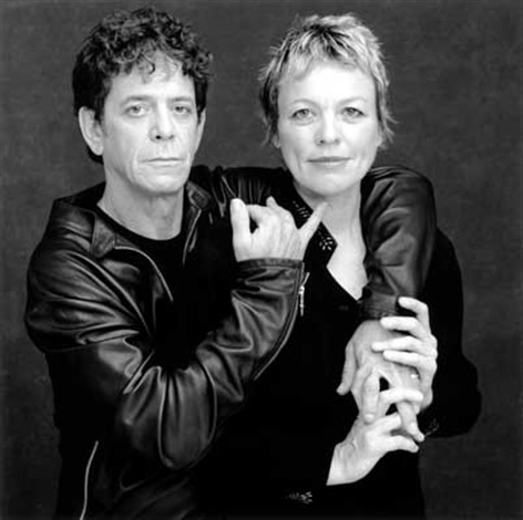 lou reed and laurie anderson by timothy greenfield sanders