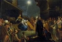 die anbetung der könige by jan harmensz muller