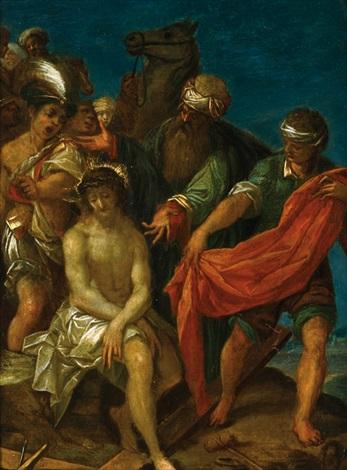 die entkleidung christi vor der kreuzigung by hans von aachen