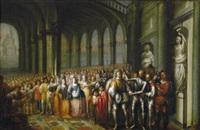 ehrung eines feldherren in einer palasthalle by flemish school-antwerp (17)