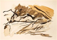 edouard manet. sein leben und seine kunst (bk by theodore duret w/3 works, incl. 1 color woodcut, 4to) by édouard manet